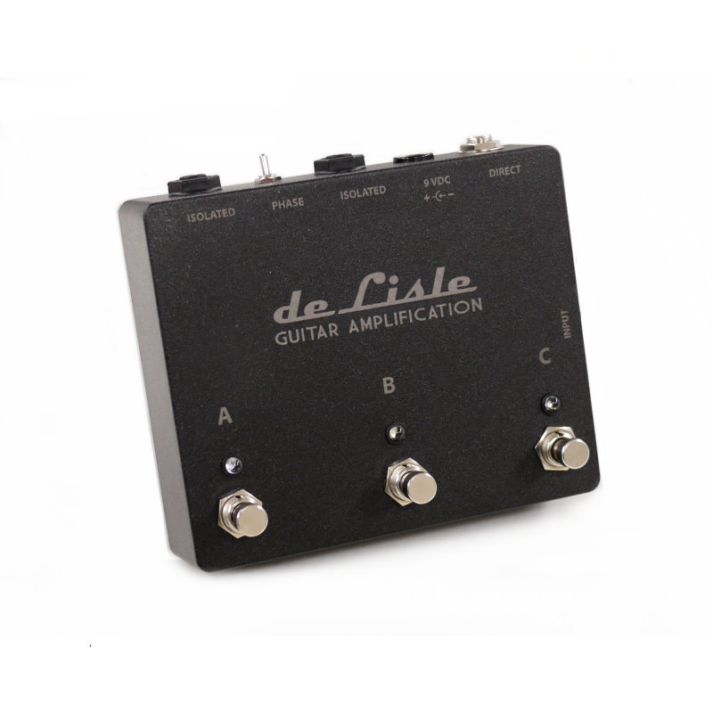 de Lisle ABC Isolated Amp Selector Switch