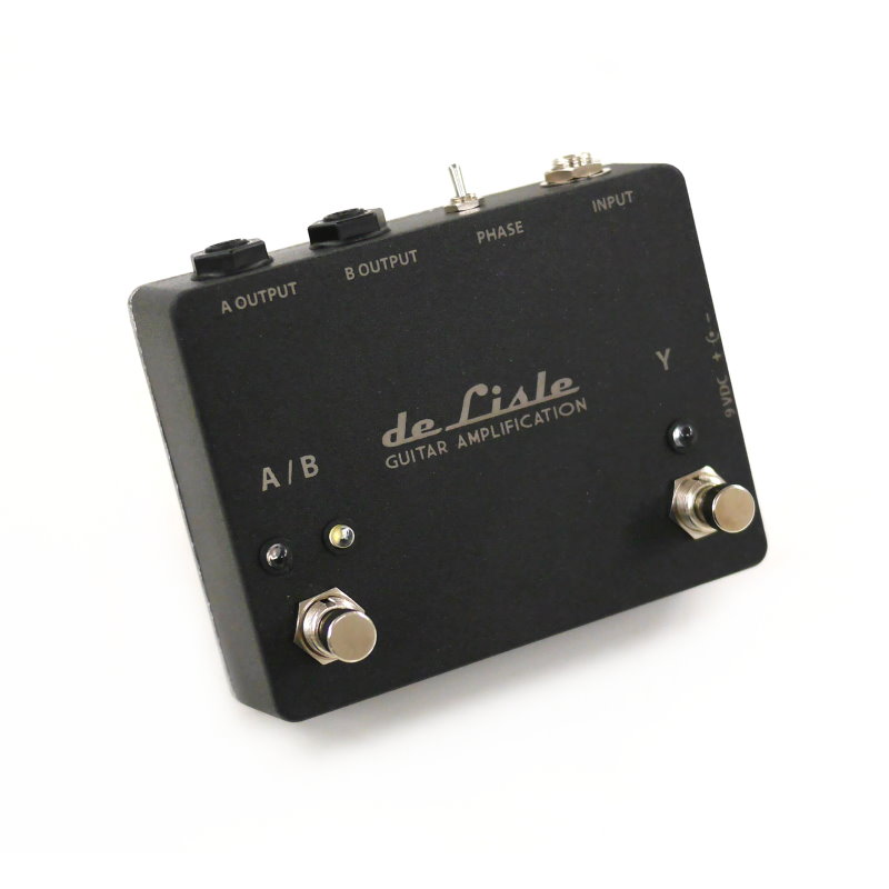 de Lisle ABY Isolated Amp Selector Switch